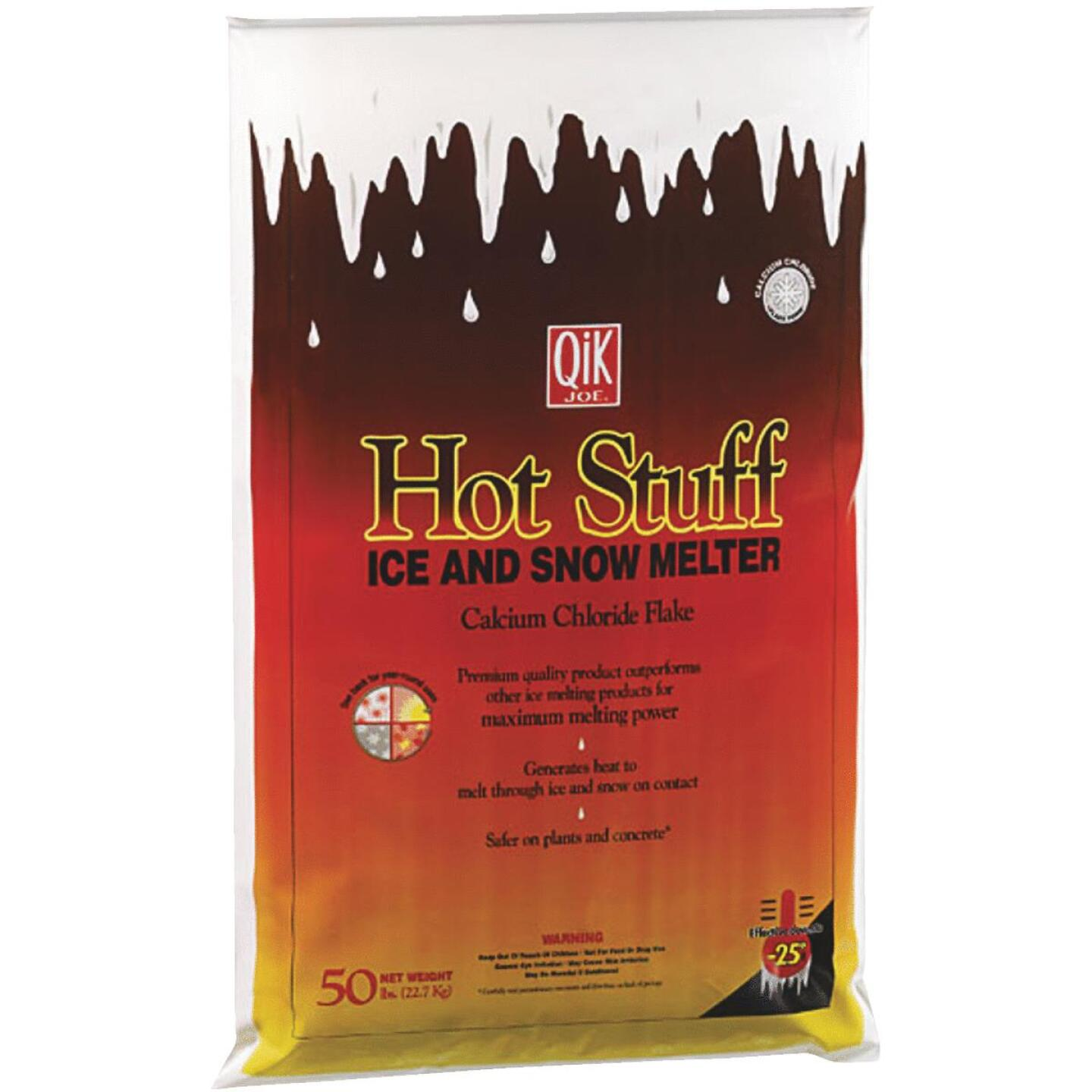 Qik Joe Hot Stuff 50 Lb. Ice Melt Flakes Image 1