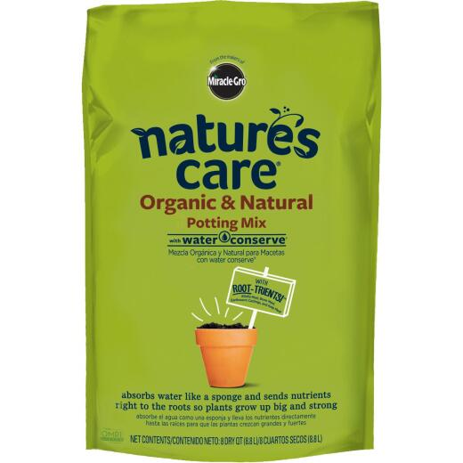 Miracle-Gro Nature's Care 8 Qt. 4-1/2 Lb. All Purpose Organic Potting Soil