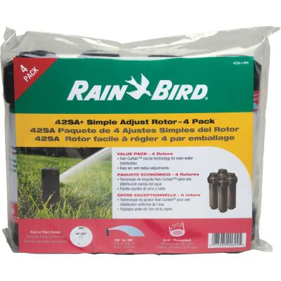 Rain Bird 4 In. 40 Deg. to 360 Deg. Heavy-Duty Gear Drive Head Rotor Sprinkler (4-Pack)