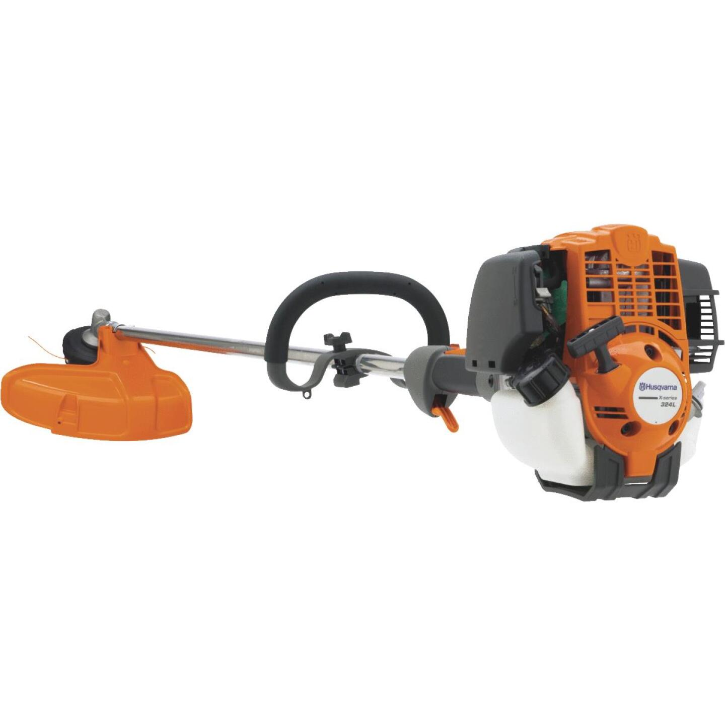 Husqvarna 324L 17 In. 25CC 4-Cycle Straight Gas String Trimmer Image 1