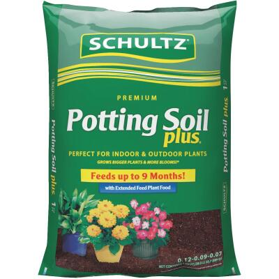 Schultz Premium  1 Cu. Ft. 23-1/2 Lb. All Purpose Indoor & Outdoor Potting Soil