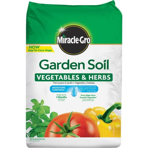 Miracle-Gro 1.5 Cu. Ft. In-Ground Vegetable & Herb Garden Soil