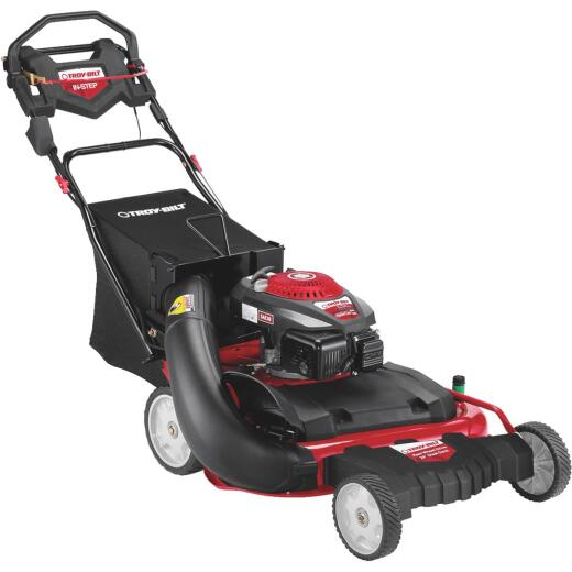 Troy-Bilt 28 In. 195cc OHV Powermore Wide Cut Self-Propelled Gas Lawn Mower
