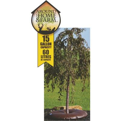 Arbor Springs Brown 15 Gal. Plastic Tree Watering Bag