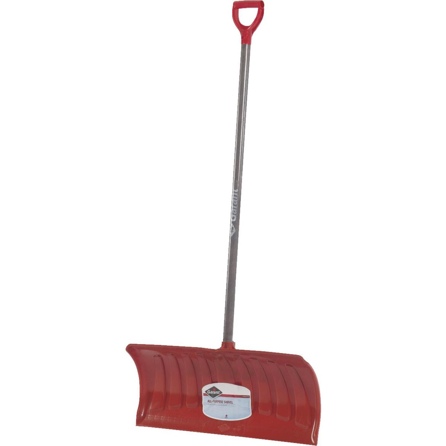 Garant Nordic 26 In. Poly Snow Pusher with 46.25 In. Wood Handle Image 2