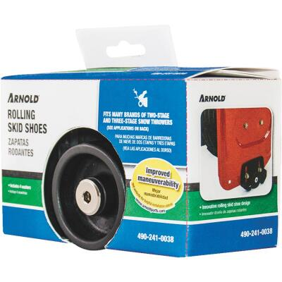 Arnold 2 & 3-Stage Poly Snow Blower Rolling Skid Shoe