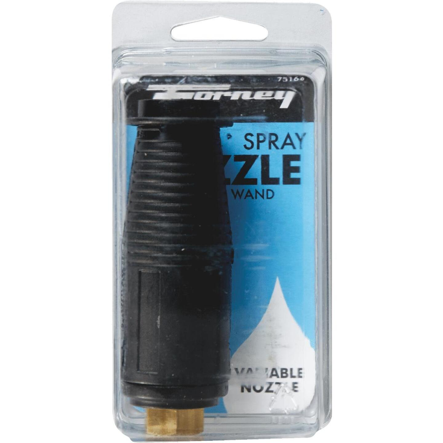 Forney 3200 psi Adjustable Turbo Pressure Washer Nozzle Image 2