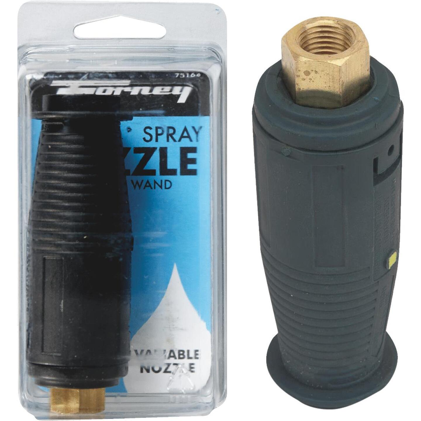 Forney 3200 psi Adjustable Turbo Pressure Washer Nozzle Image 1