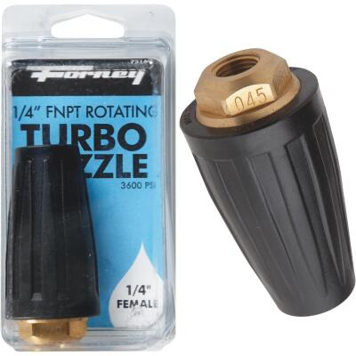 Forney 3600 psi Rotating Turbo Pressure Washer Nozzle