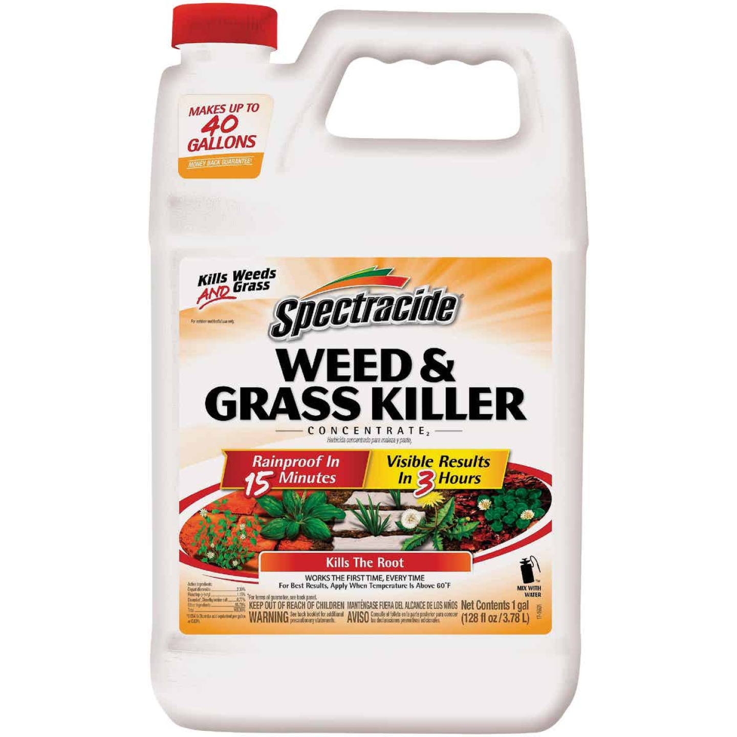 Spectracide 1 Gal. Concentrate Weed & Grass Killer Image 1
