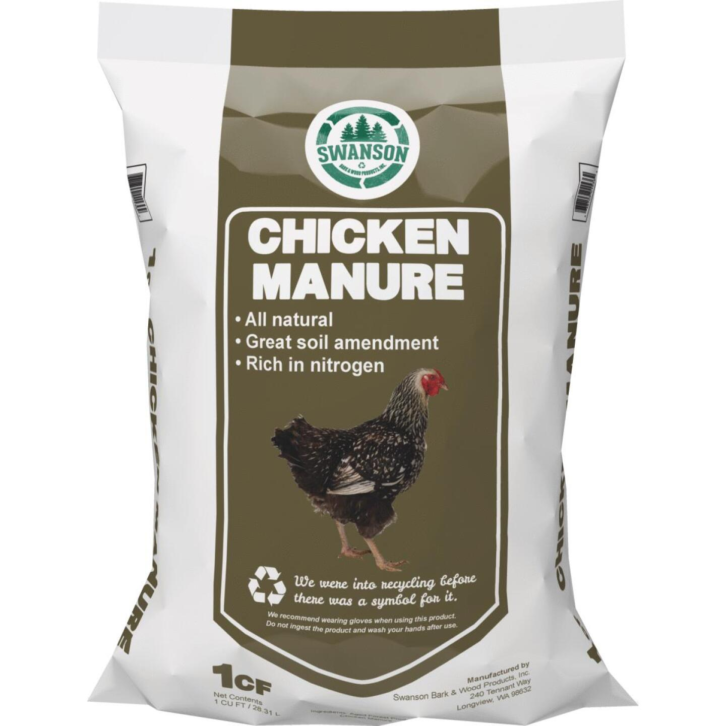 Greensmix 36 Lb. 1 Cu. Ft. Chicken Manure Image 1