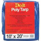 Do it Blue Woven 10 Ft. x 20 Ft. Medium Duty Poly Tarp Image 1