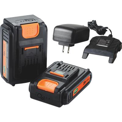 Scotts 20 Volt 2.0 Ah Replacement Battery with Charger Pack