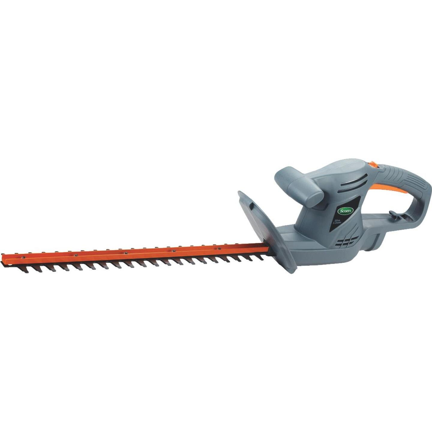 Scotts 20 In. Corded Electric Hedge Trimmer Image 1