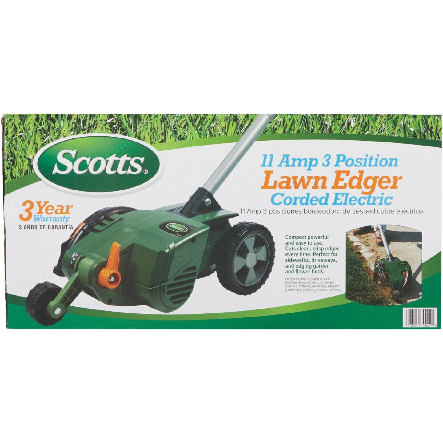 Scotts 7.5 In. 11 Amp Corded Electric Lawn Edger Image 2