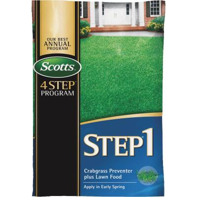 Scotts 4-Step Program Step 1 13.46 Lb. 5000 Sq. Ft. 28-0-7 Lawn Fertilizer with Crabgrass Preventer