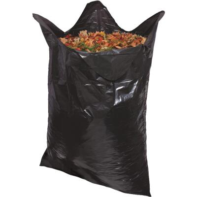 Do it Best 39 Gal. Black Flap Tie Lawn & Leaf Bag (10-Count)