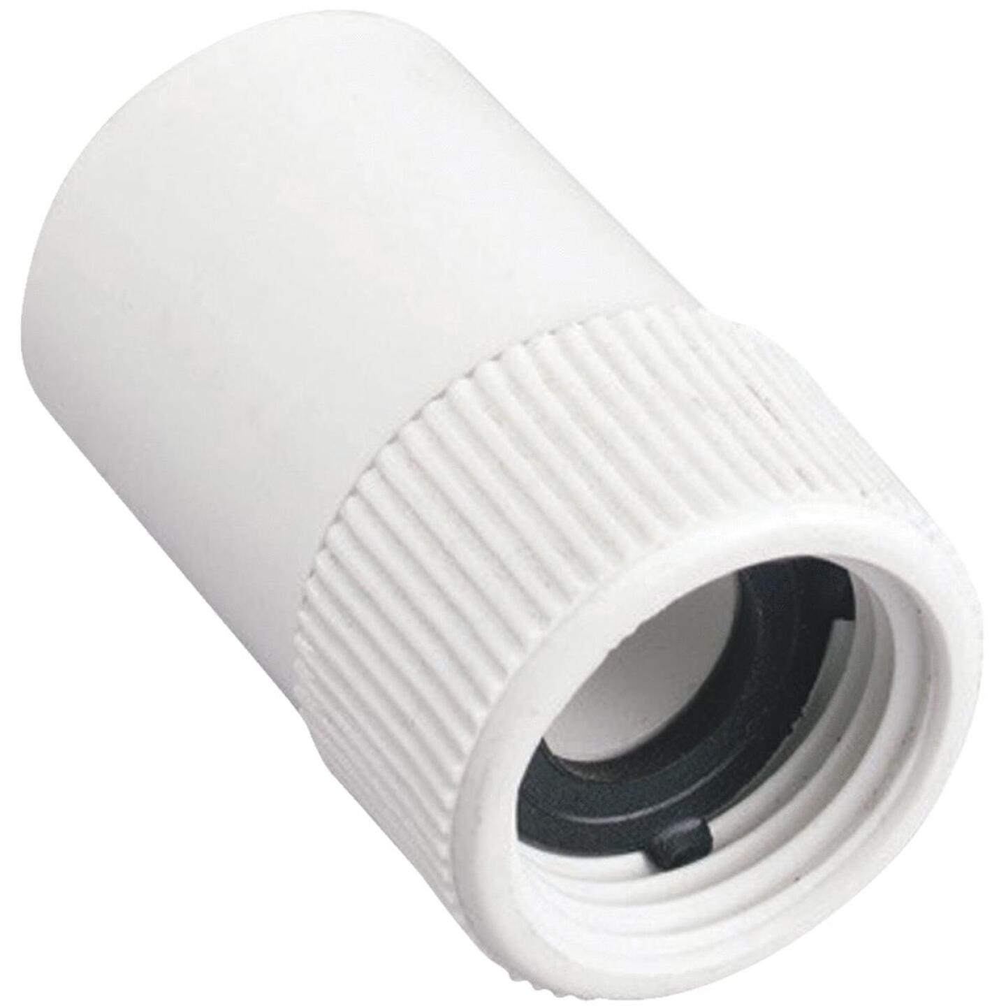 Orbit 3/4 In. FHT x 3/4 In. Slip Swivel PVC Hose Adapter Image 1