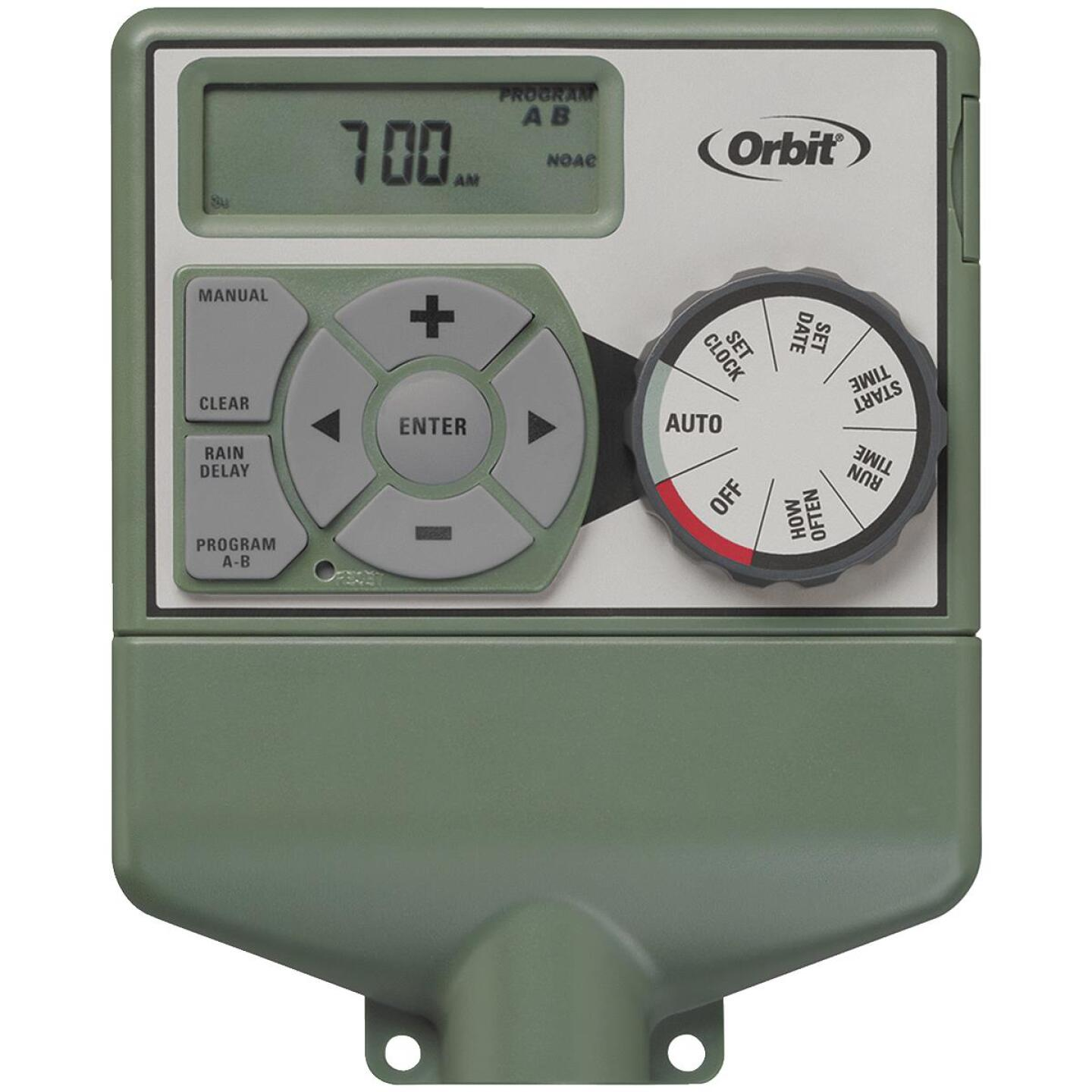 Orbit WaterMaster Dual Program 6-Station Indoor Mount Plug-In Sprinkler Timer Image 1