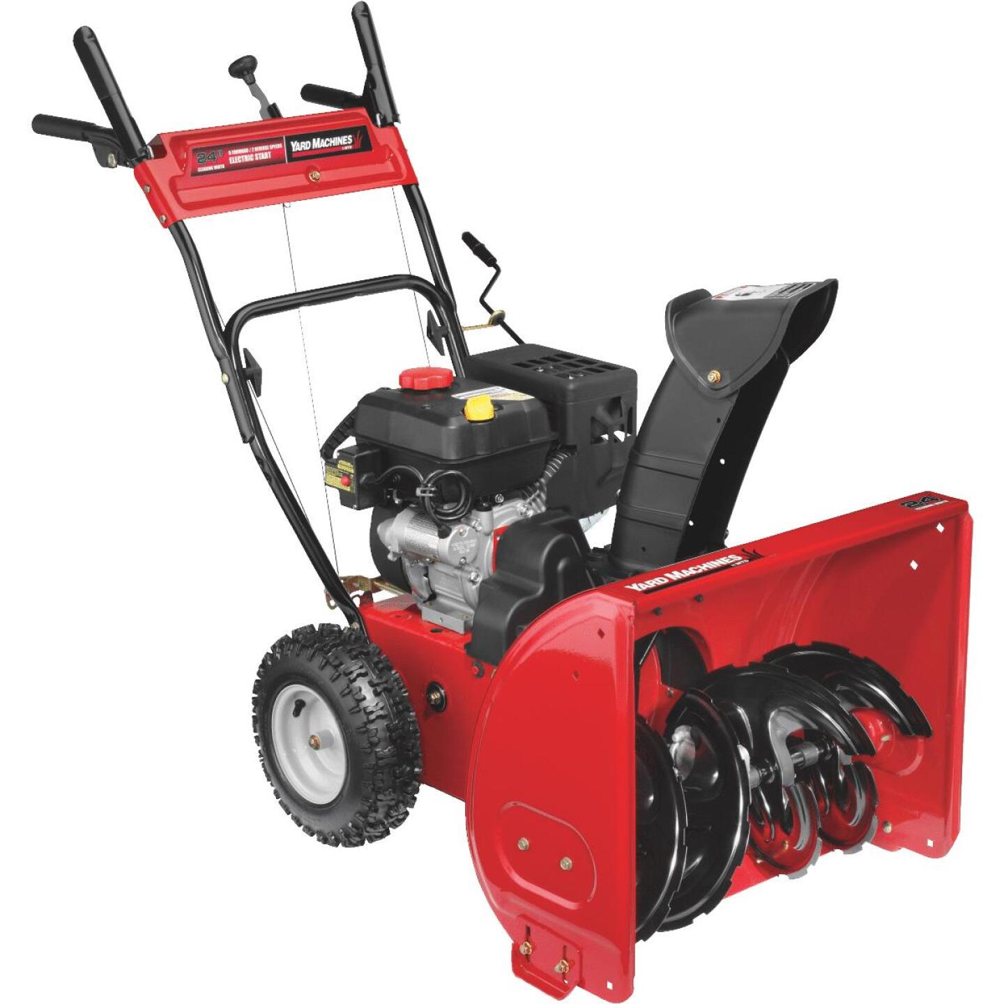 Yard Machine 24 In. 208cc 2-Stage Gas Snow Blower Image 1