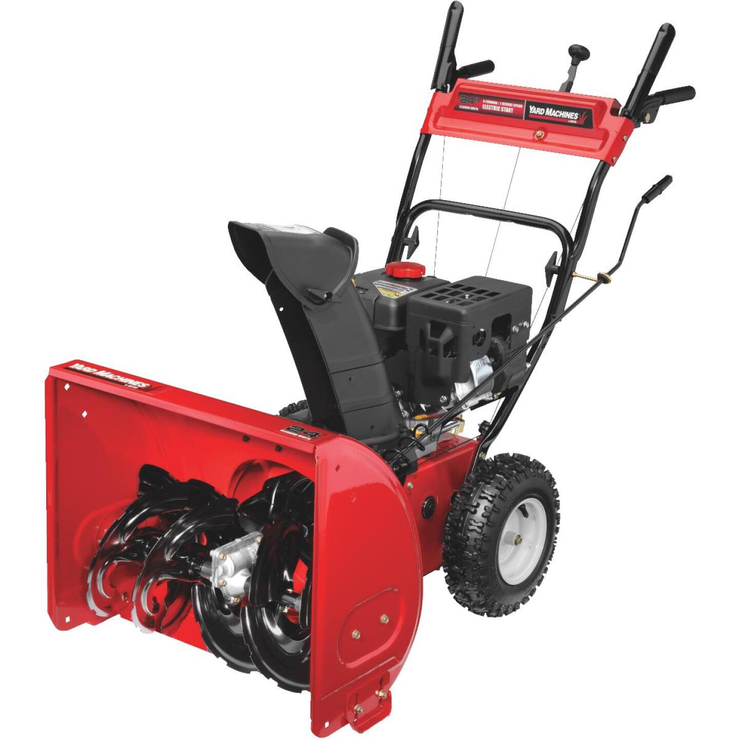 Yard Machine 24 In. 208cc 2-Stage Gas Snow Blower Image 2