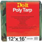 Do it Camo Woven 12 Ft. x 16 Ft. Medium Duty Poly Tarp Image 1