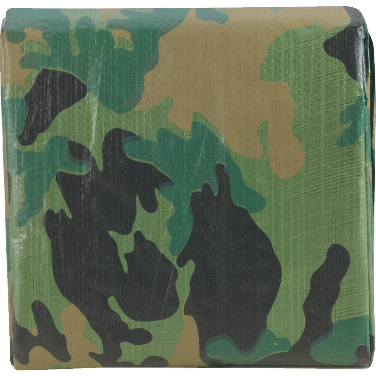 Do it Camo Woven 12 Ft. x 16 Ft. Medium Duty Poly Tarp Image 2