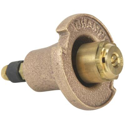 Champion 1.25 In. Quarter Circle Brass Pop-Up Sprinkler with Brass Nozzle