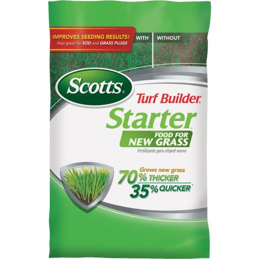 Scotts Turf Builder 3 Lb. 1000 Sq. Ft. 24-25-4 Starter Fertilizer For New Lawns