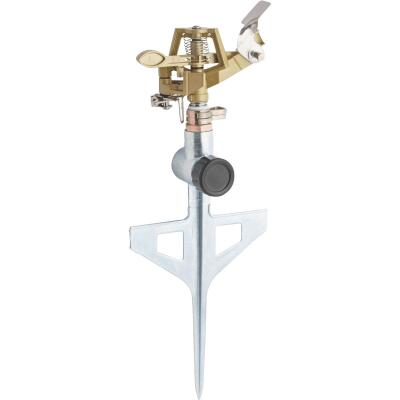 Best Garden Metal 5600 Sq. Ft. T-Spike Impulse Sprinkler