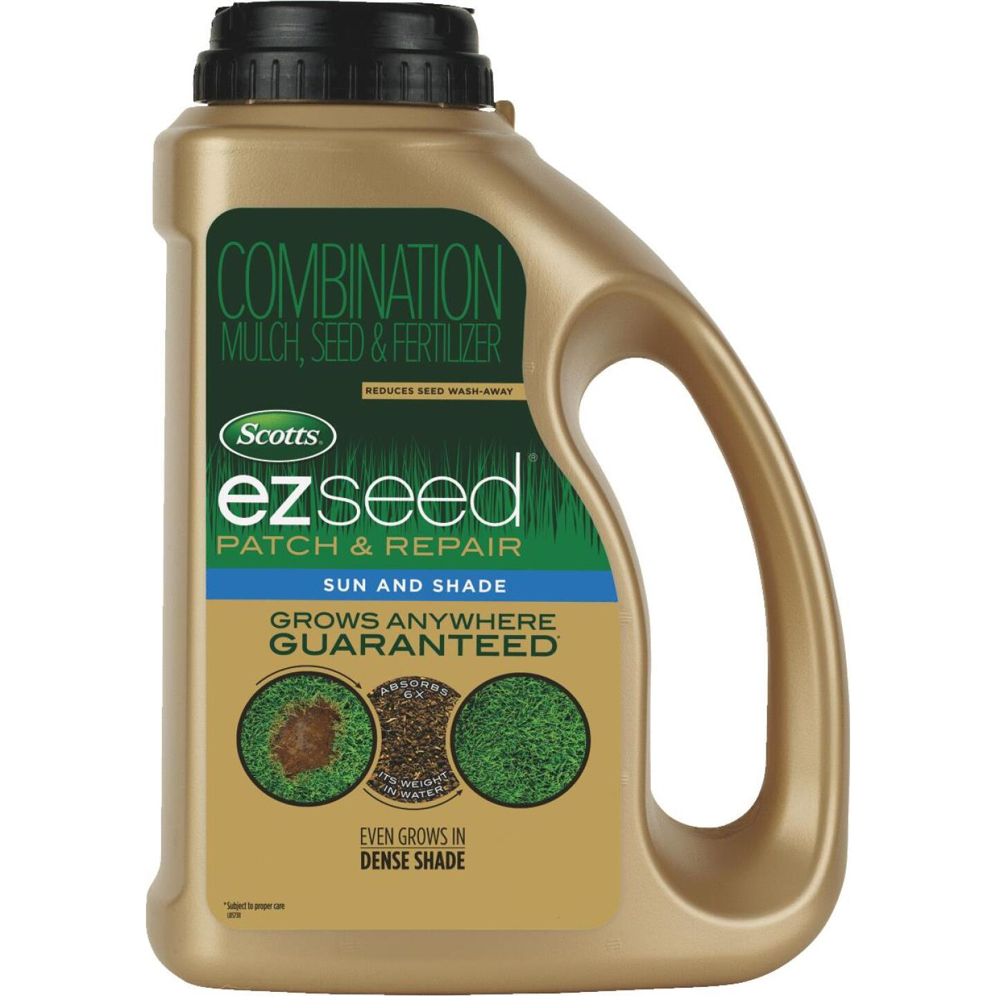 Scotts eZ Seed 3.75 Lb. 85 Sq. Ft. Coverage Sun & Shade Grass Patch & Repair Image 1