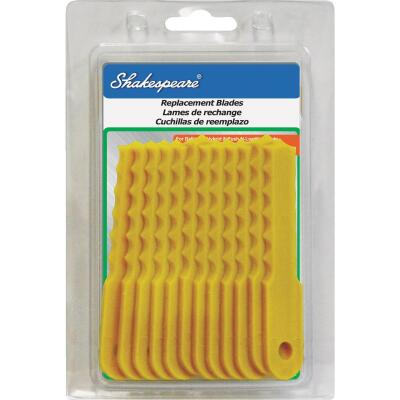 Shakespeare Push-N-Load Replacement Trimmer Blade (12-Count)