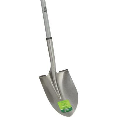 Best Garden 46 In. Fiberglass Handle Round Point Shovel