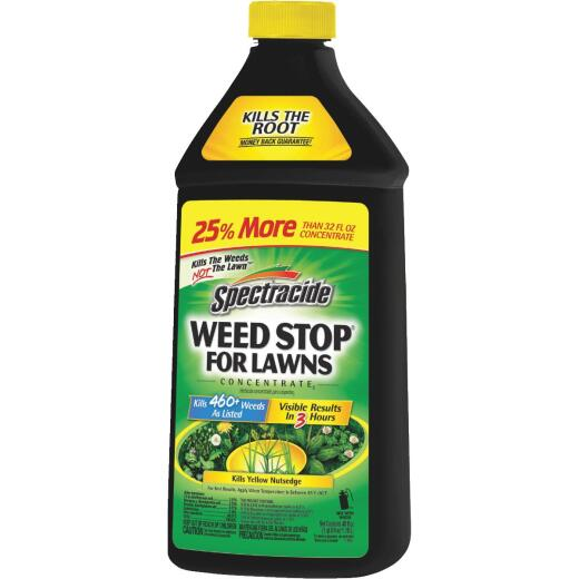 Spectracide Weed Stop For Lawns 40 Oz. Concentrate Weed Killer