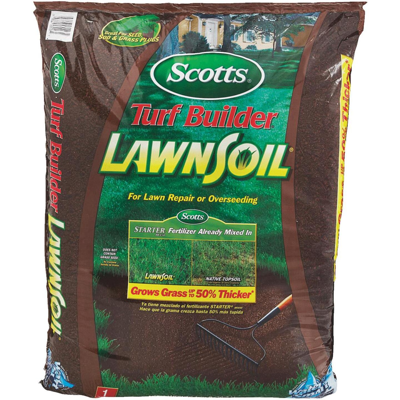 Scotts Turf Builder LawnSoil 1 Cu. Ft. 33 Lb.All Purpose Top Soil Image 6