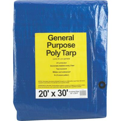 Do it Blue Woven 20 Ft. x 30 Ft. General Purpose Tarp