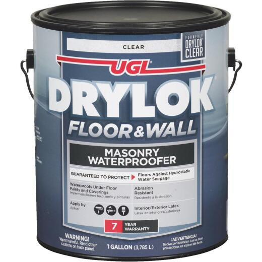 Drylok Clear Floor & Wall Masonry Waterproofer, 1 Gal.