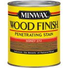 Minwax Wood Finish Penetrating Stain, Honey, 1/2 Pt. Image 1