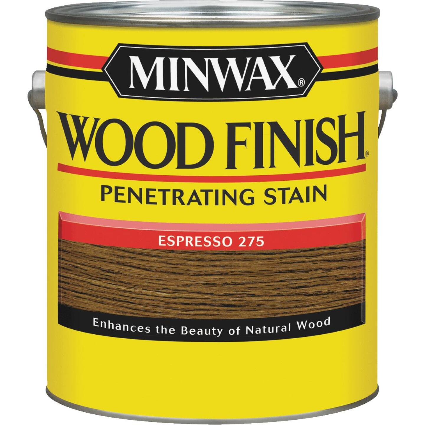 Minwax Wood Finish Penetrating Stain, Espresso, 1 Gal. Image 1