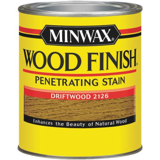 Minwax Wood Finish Penetrating Stain, Driftwood, 1/2 Pt.
