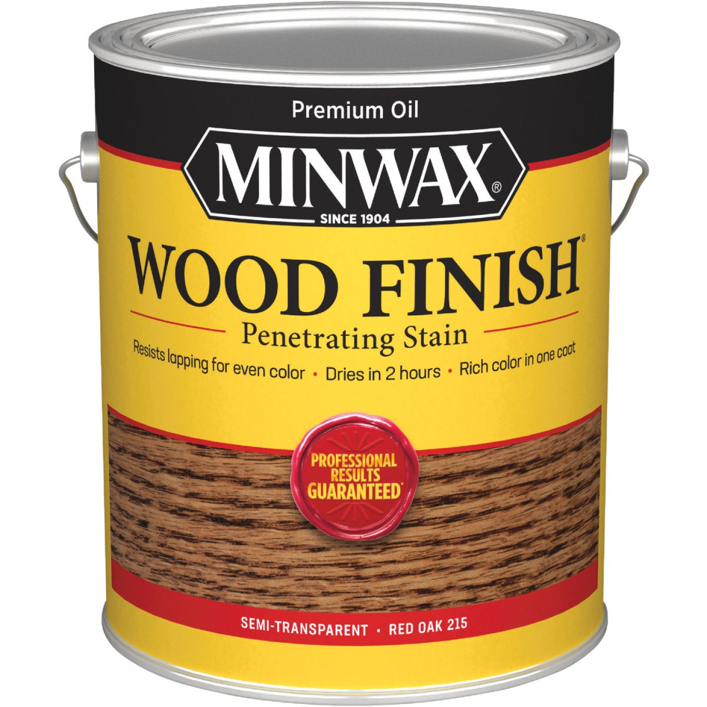 Minwax Wood Finish Penetrating Stain, Red Oak, 1 Gal. Image 1
