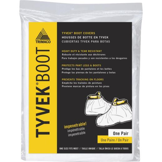 Trimaco 1 Size Fits Most Tyvek White Boot Guard Cover