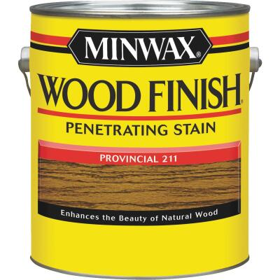 Minwax Wood Finish Penetrating Stain, Provincial, 1 Gal.