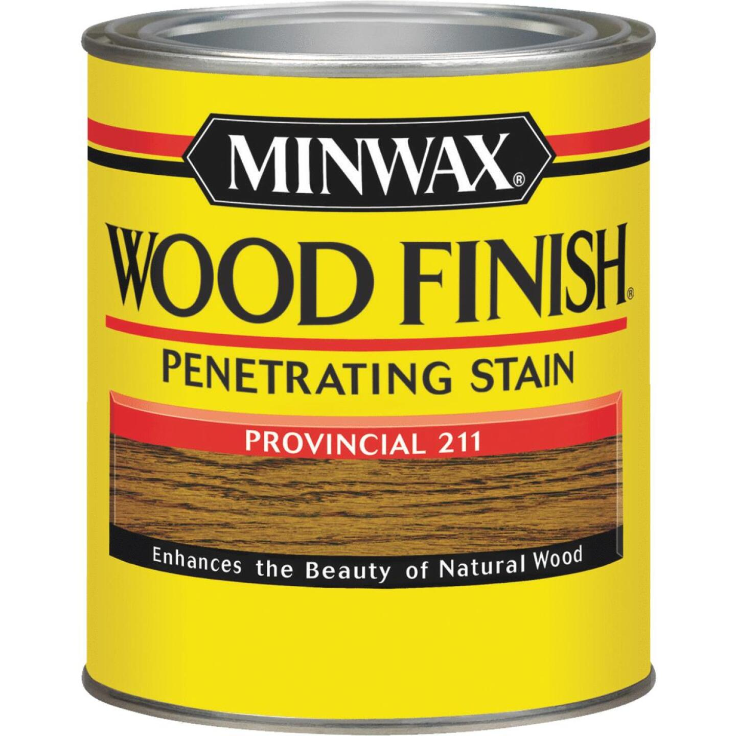 Minwax Wood Finish Penetrating Stain, Provincial, 1 Qt. Image 1