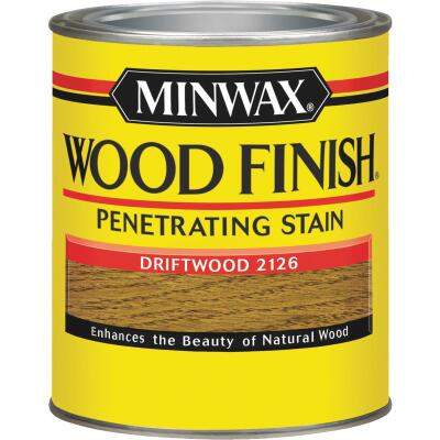 Minwax Wood Finish Penetrating Stain, Driftwood, 1 Qt.