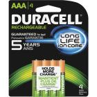 Duracell AAA NiMH Rechargeable Battery (4-Pack) Image 1
