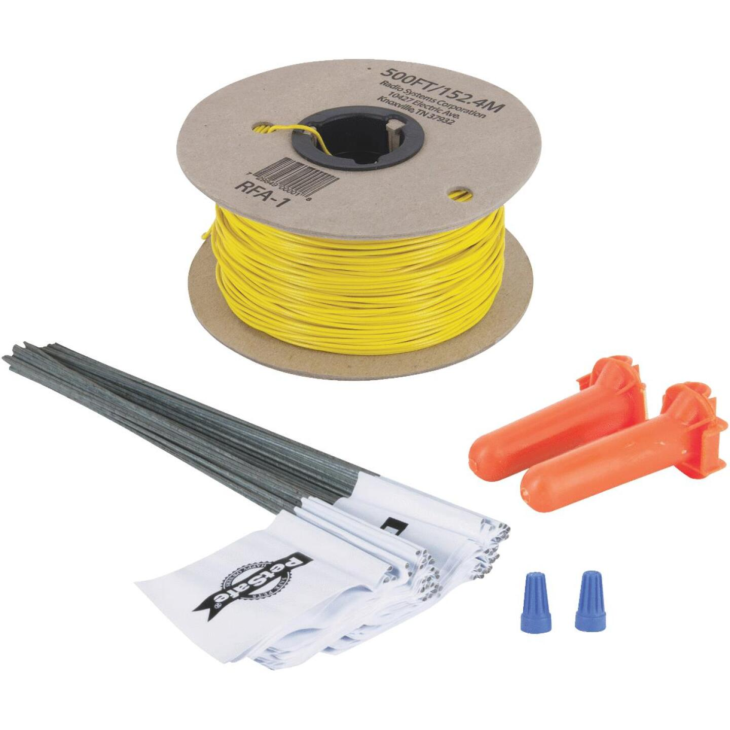 Petsafe 500 Ft. 20 Ga. Copper Wire & 50-Flag In-Ground Fence Expansion Kit Image 1