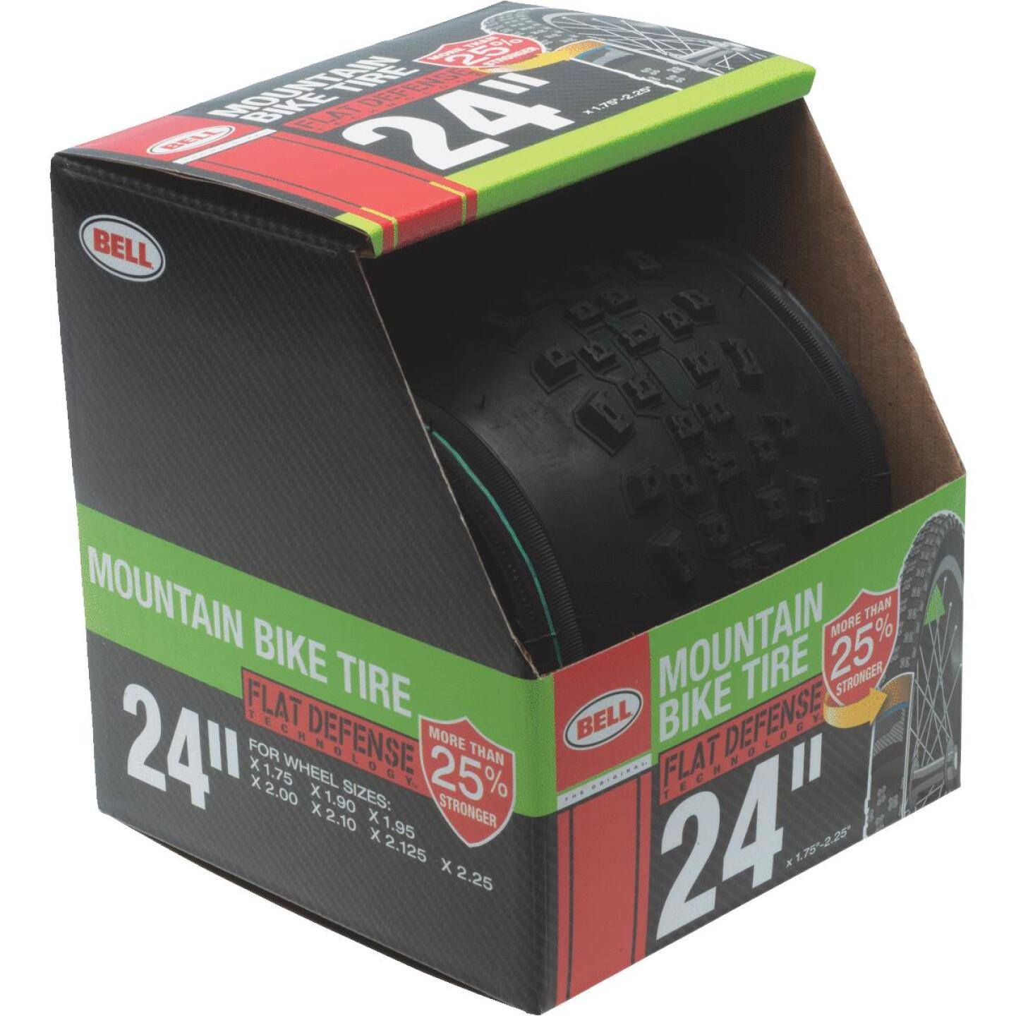 Bell 24 In. Mountain Bike Tire with Flat Defense Image 1