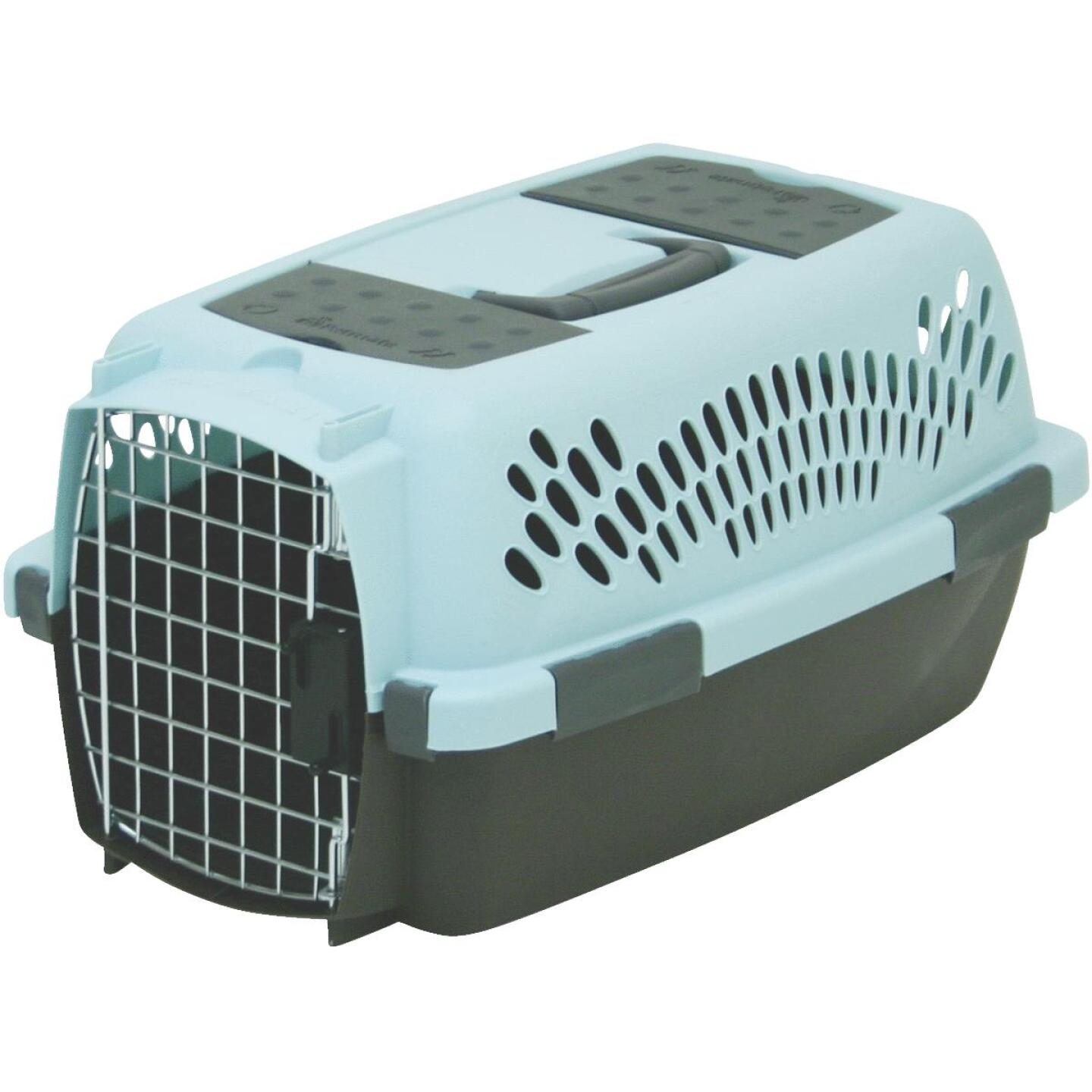 Petmate Aspen Pet 19.25 In. x 12.56 In. x 10 In. Up to 10 Lb. Small Fashion Pet Porter Image 1
