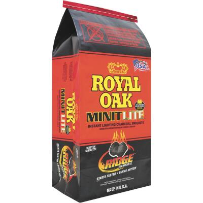 Royal Oak Minitlite 6.2 Lb. Briquets Charcoal